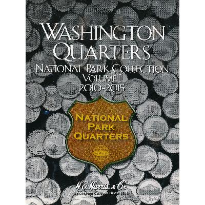Альбом для монет США(25 центов, Парки, Ч.1) 2010-2015.