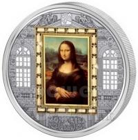 Удивительная монета «Картина Мона Лиза»