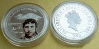 Монета Ниуэ с портретом Владимира Высоцкого