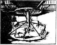 Вальцевальная машина с конным приводом