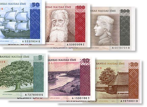 О чём говорят латвийские деньги