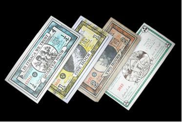 В некоторых городах есть собственная местная валюта