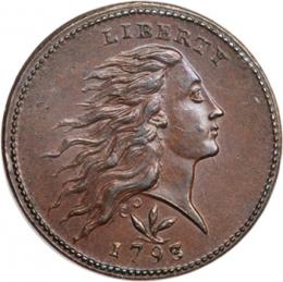 1 цент 1793