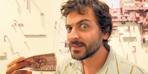 Аргентинский художник Максимо Гонсалез