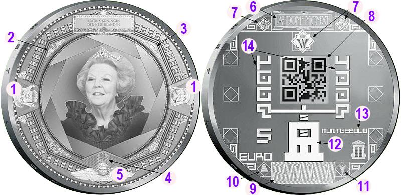 100 лет здания Королевского монетного двора Нидерландов