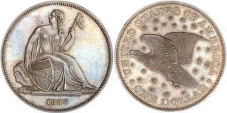 Монета Кристиана Гобрехта 1836 года