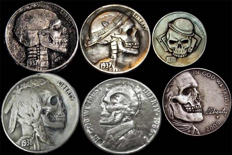 Резные монеты или Hobo Nickels