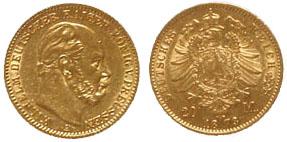 20 марок 1873 года. Иллюстрация с сайта nomismata.de