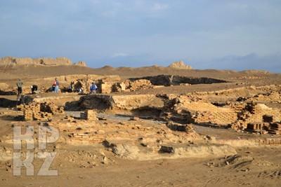Найден монетный двор средневекового Саурана