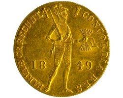 «Голландский» червонец 1849 года