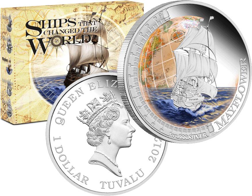 Монета «Мейфлауэр»