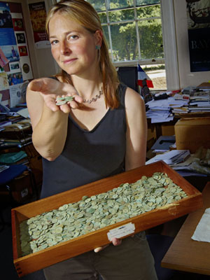 В графстве Вустершир обнаружен большой клад серебряных римских монет