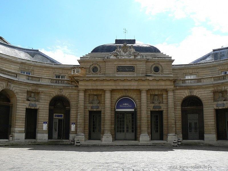 Музей Парижского монетного двора, расположенный во внутреннем дворе главного здания Monnaie de Paris