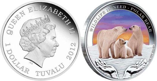 Монета «Белый медведь»