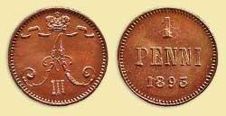 Пенни 1895 года