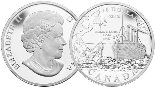 Монета «Титаник»