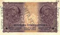 История чехословацких и чешских купюр