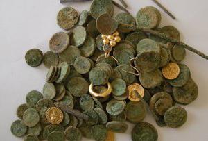 Старинный римский клад найден в Израиле