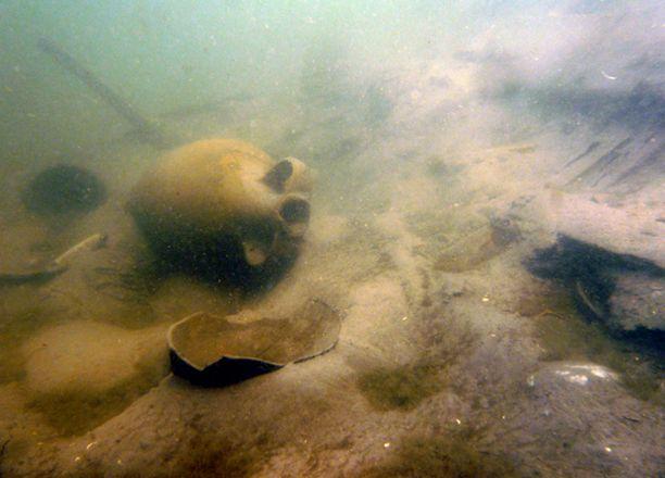 Клад монет обнаружен у берегов Таманского полуострова