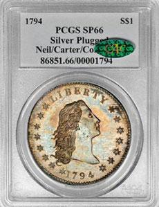 1 доллар 1794