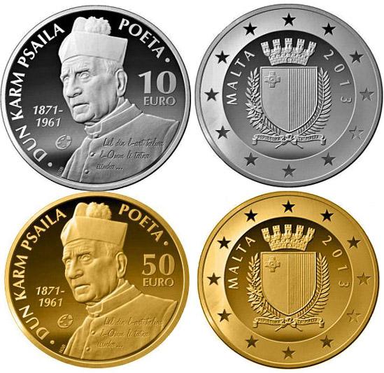 Монеты «Дун Карм Псаила»
