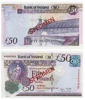 Фунты в Ирландии стали сильнее