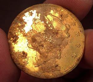 Клад времен «золотой лихорадки»