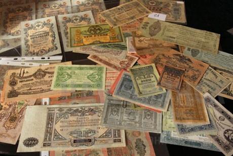 Таможня передала музею монеты и банкноты XIX–XX веков