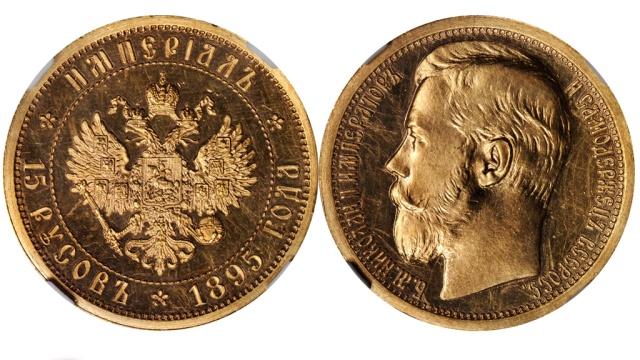 Серия российских золотых монет оценена в 1 млн долларов
