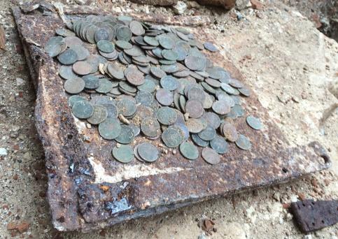 При реставрации усадьбы «Пущино-на-Наре» обнаружен клад