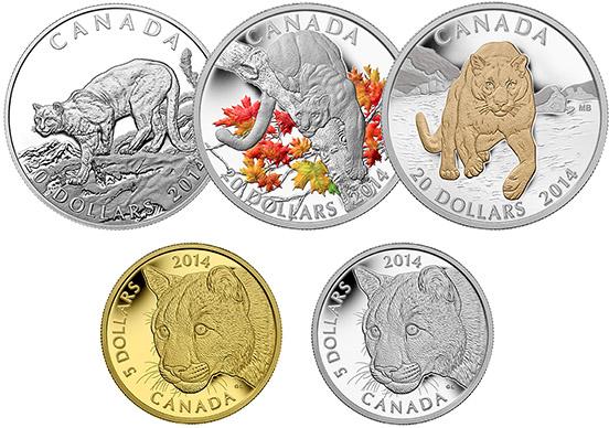 Набор монет «Пума»