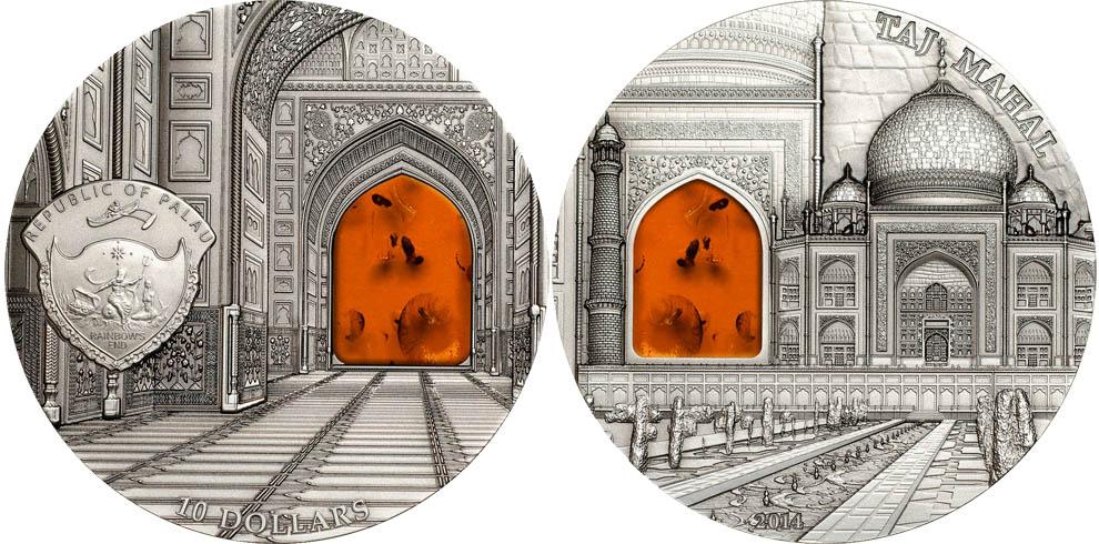 Монета «Минералогическое искусство»