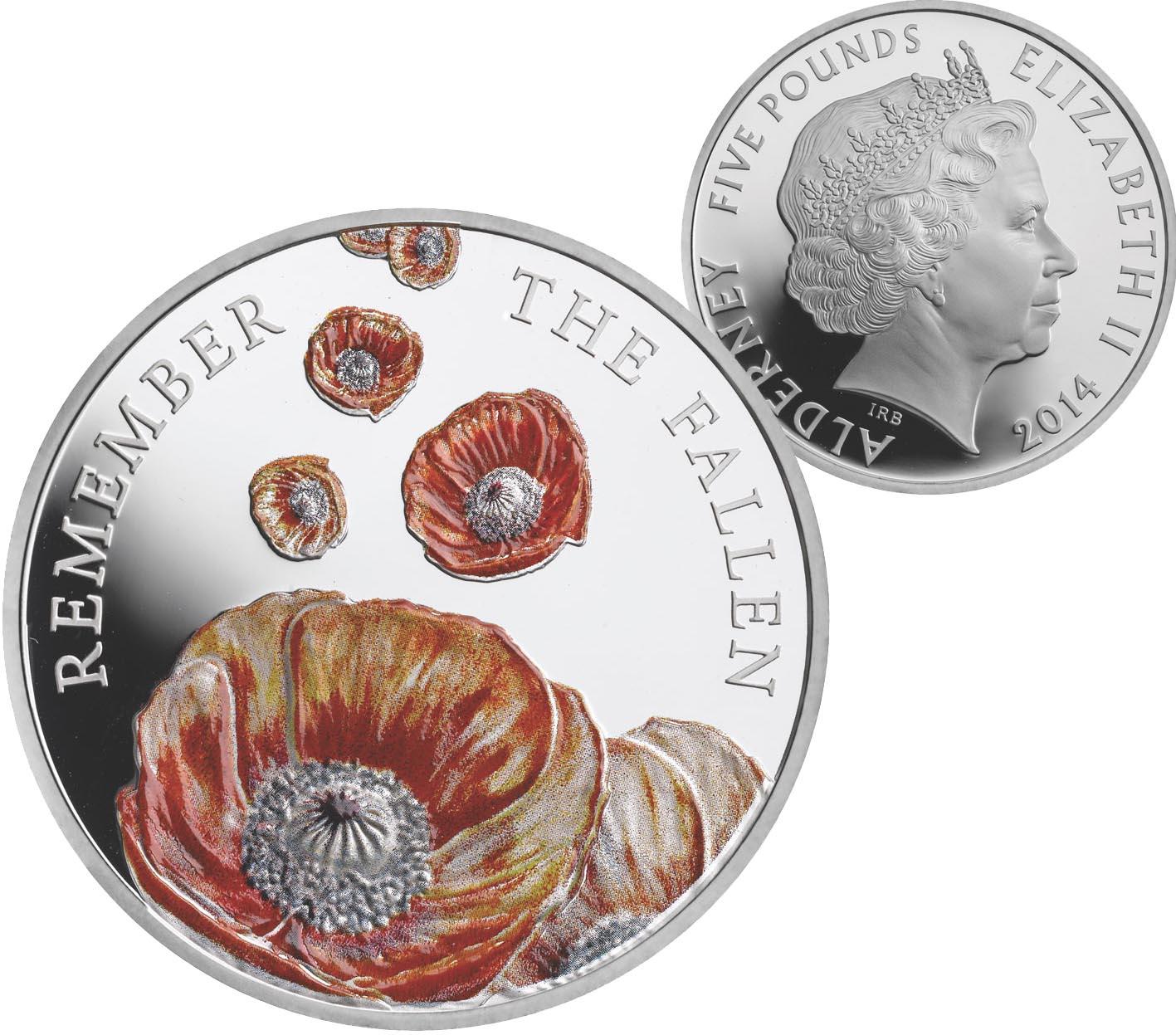 Монета «Памятный мак»