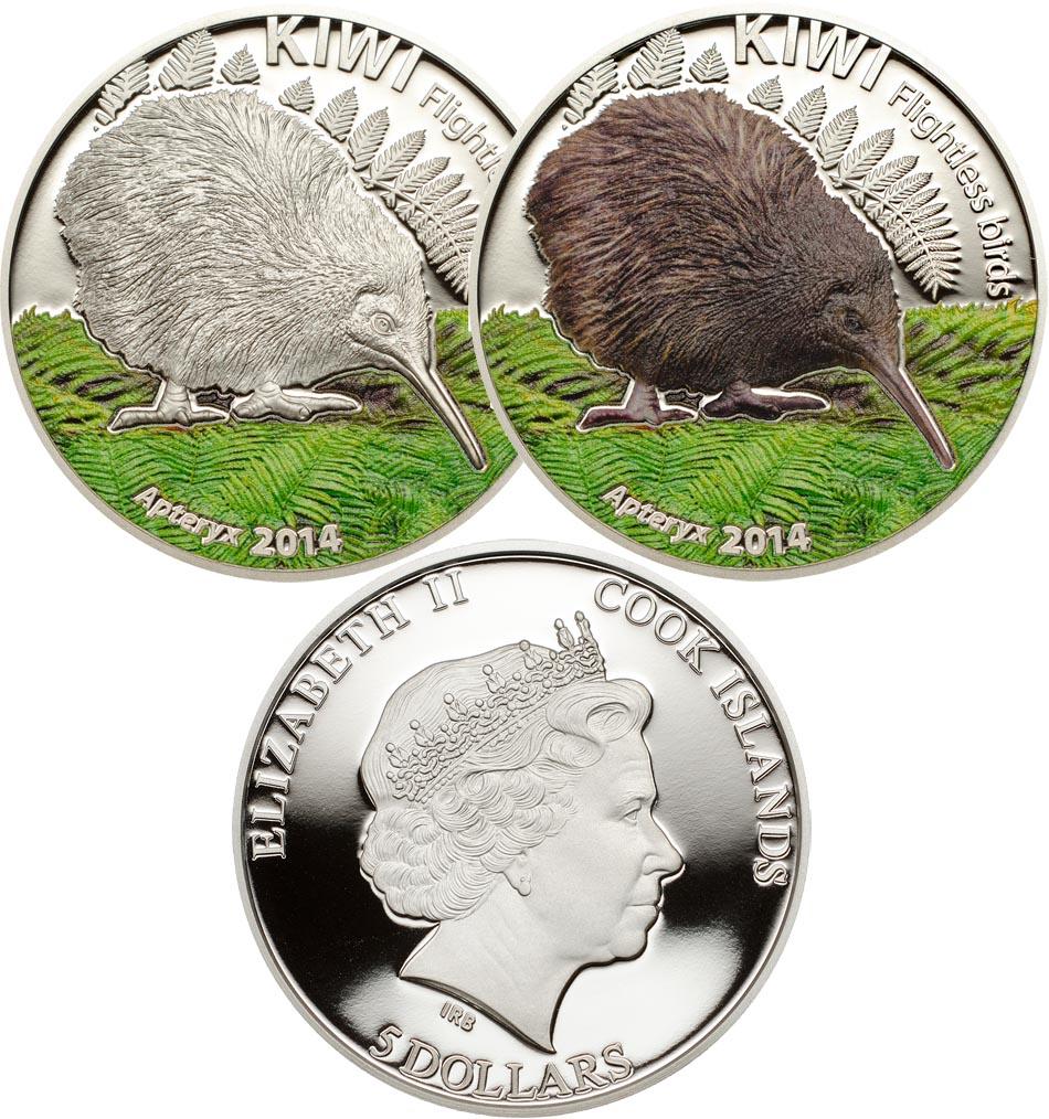 Монеты «Киви»