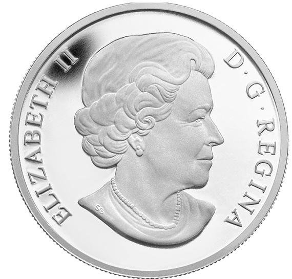 1 oz. Fine Silver Coin - Ice Dancer