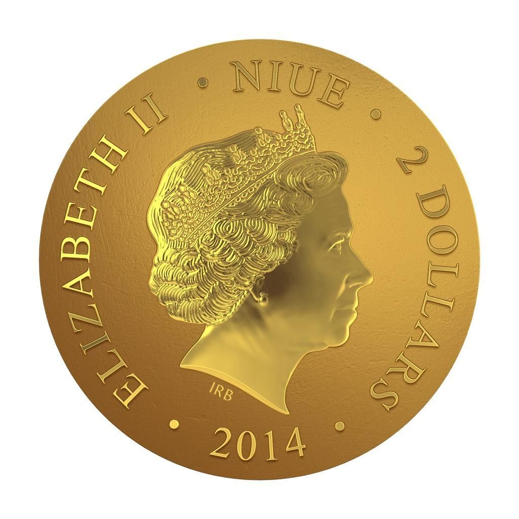 Монета «Мадонна с младенцем» представлена коллекционерам