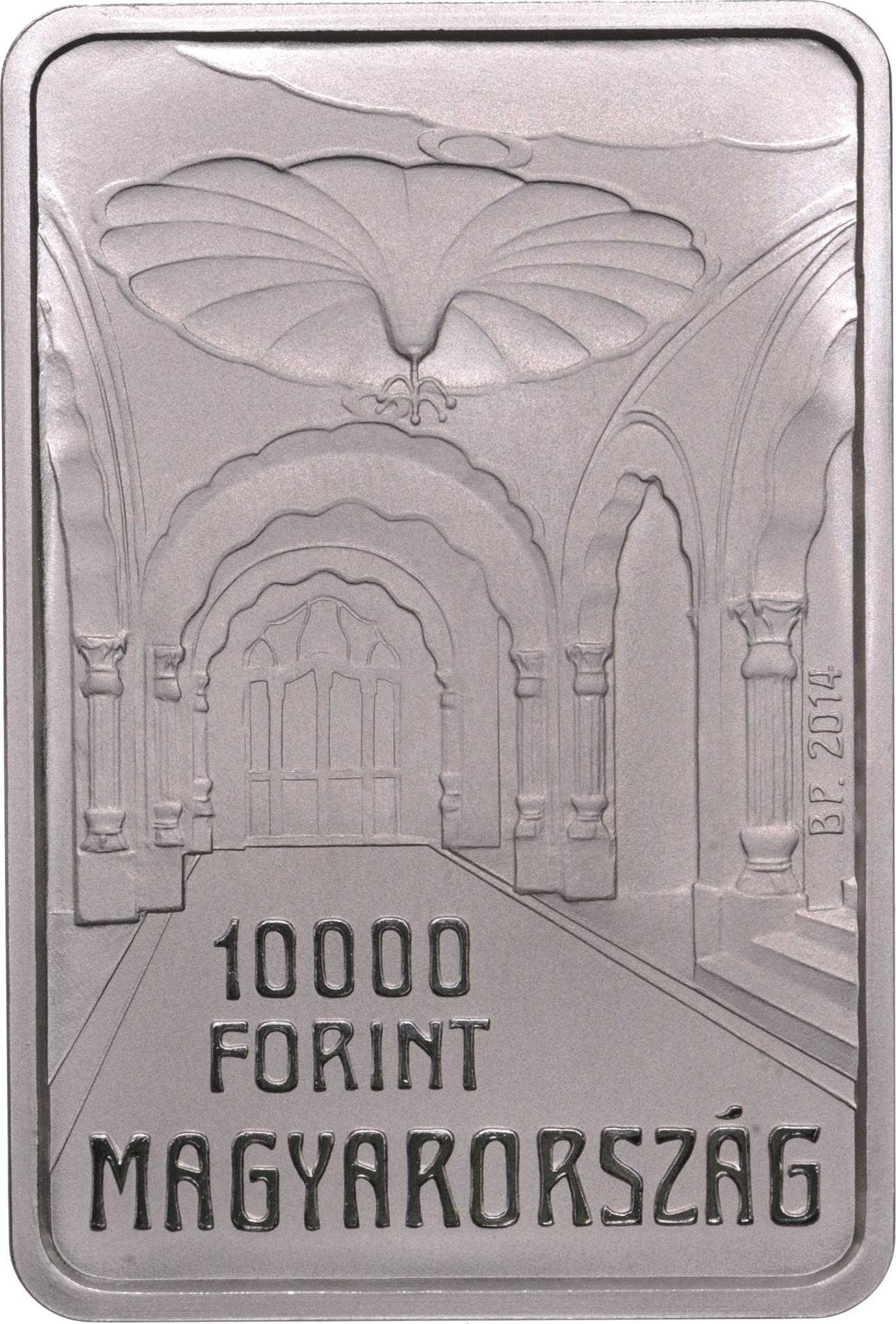 Монета «100 лет со дня смерти Эдёна Лехнера»