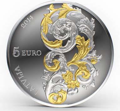 Монета, посвященная искусству Круляндии