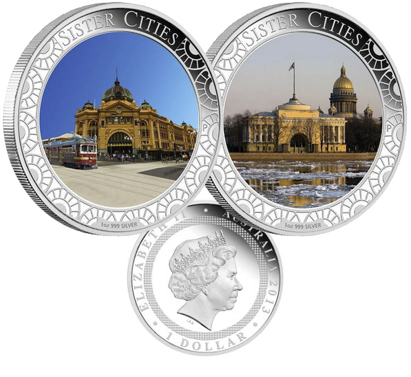 Города побратимы Санкт-Петербург и Мельбурн