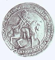 Пробный рубль Алексея Михайловича. 1654 г.