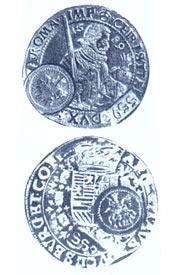Так выглядел ефимок в России. XVI-XVII вв.