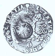 Ефимок «крыжовый» (крестовый). Талер. Испанские Нидерланды. 1621 г.