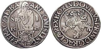 Йоахимсталер 1525 года