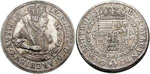 Австрийский талер эрцгерцога Леопольда, 1632 год