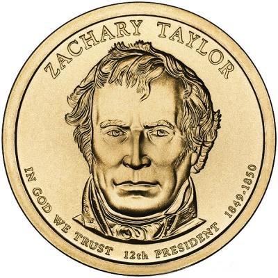 1 доллар Закари Тейлора