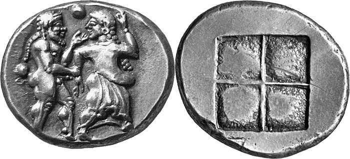 Анэпиграфная монета