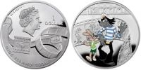Вторая монета «Ну, погоди!» серии «Герои мультфильмов»