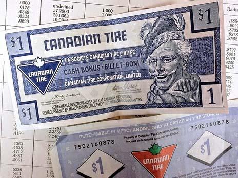 Альтернативные канадские деньги противостоят пластику