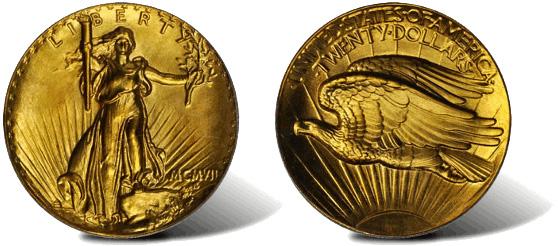 Золотую монету продали за 2,7 млн долларов