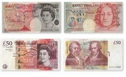 Банкт Англии выводит банкноту из обращения